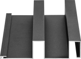 Profiel Aluminium gevelbekleding Alinel type B - 01